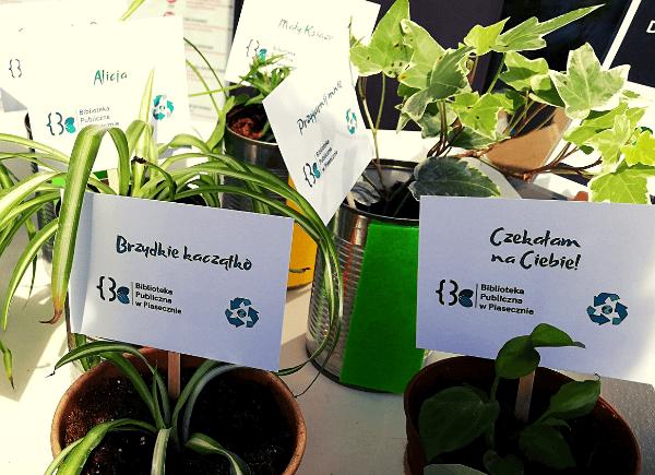 Dzień Ziemi - wymiana roślin w Bibliotece