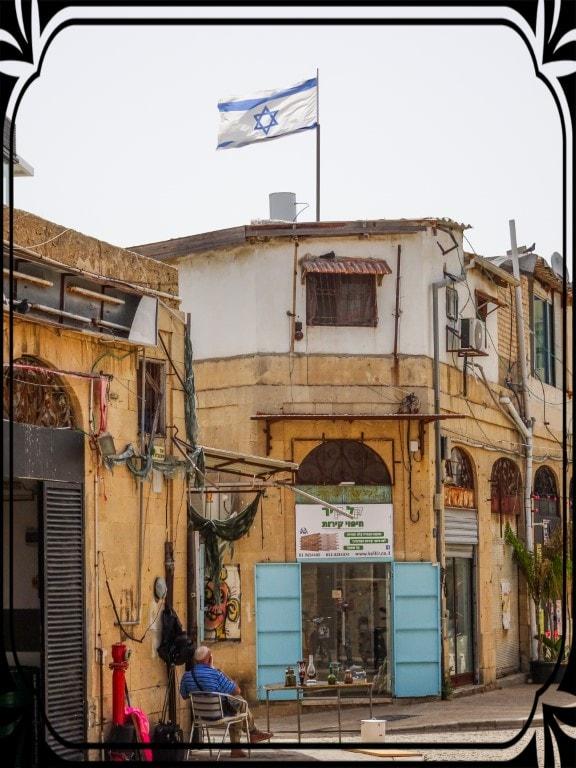 Stara zabudowa Tel Avivu, fot.Piotr Michalski