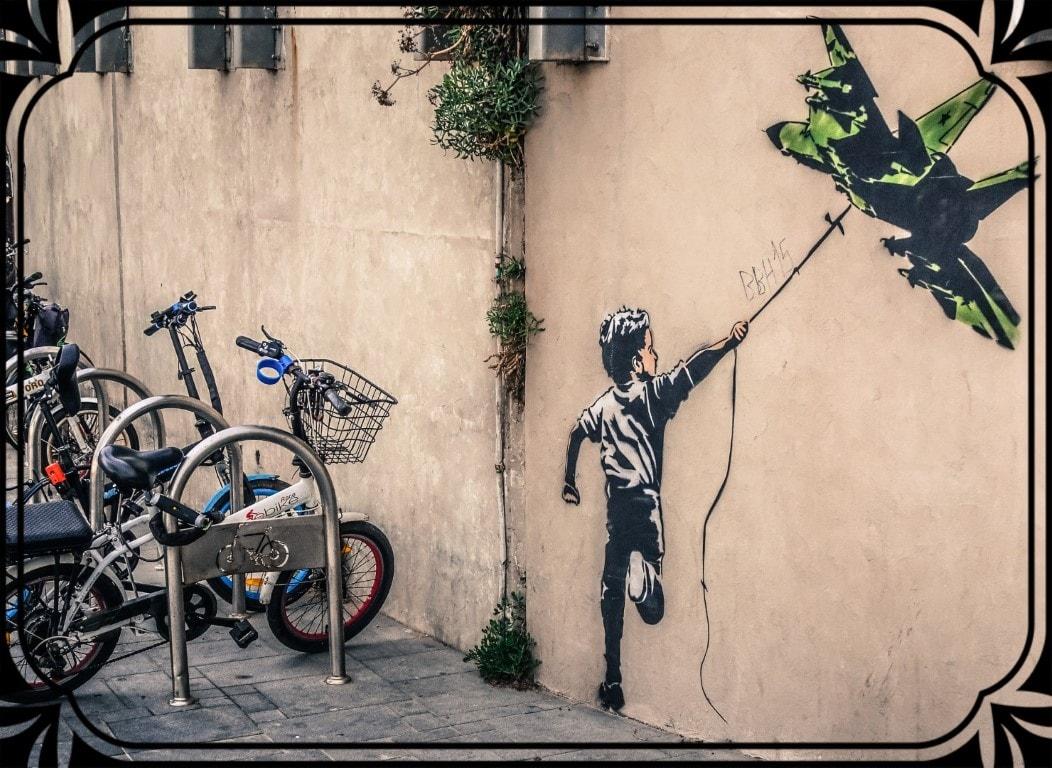 Tel Aviv - graffiti, fot.Piotr Michalski