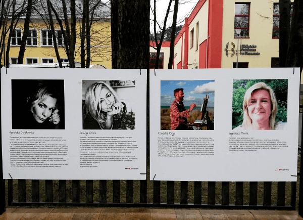 Autorzy prac wystawy Art Love Józefosław
