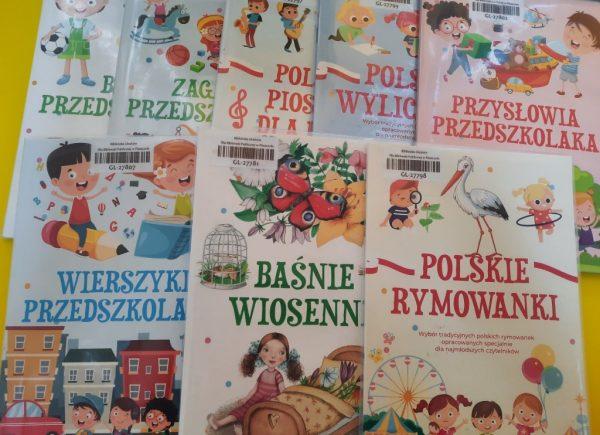 Propozycje książek dla dzieci filia wGłoskowie