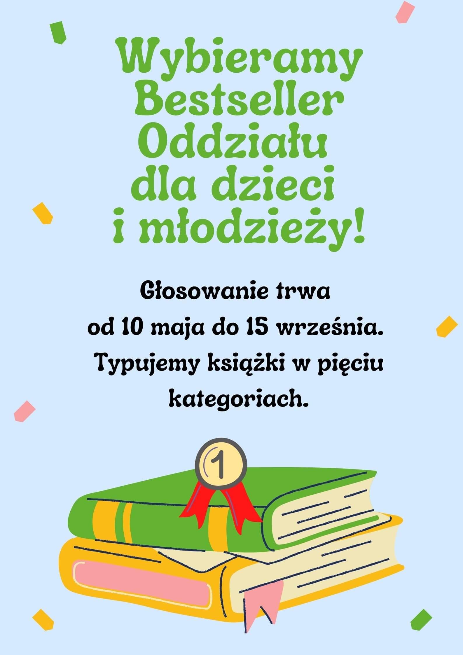 Bestseller Oddziału dla dzieci i młodzieży