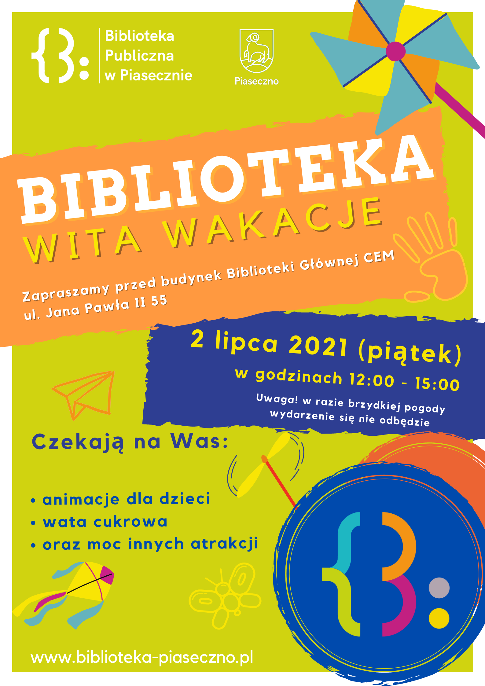 Biblioteka Wita Wakacje