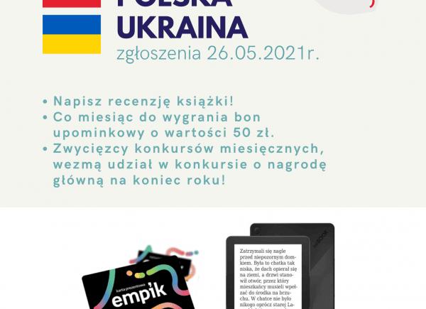Czytelniczy Challenge Polska i Ukraina - maj 2021