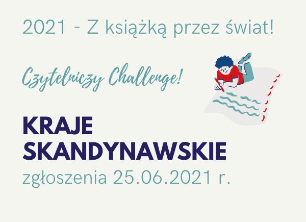 Czytelniczy Challenge - Kraje Skandynawskie