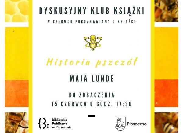 Plakat na Dyskusyjny Klub Książki