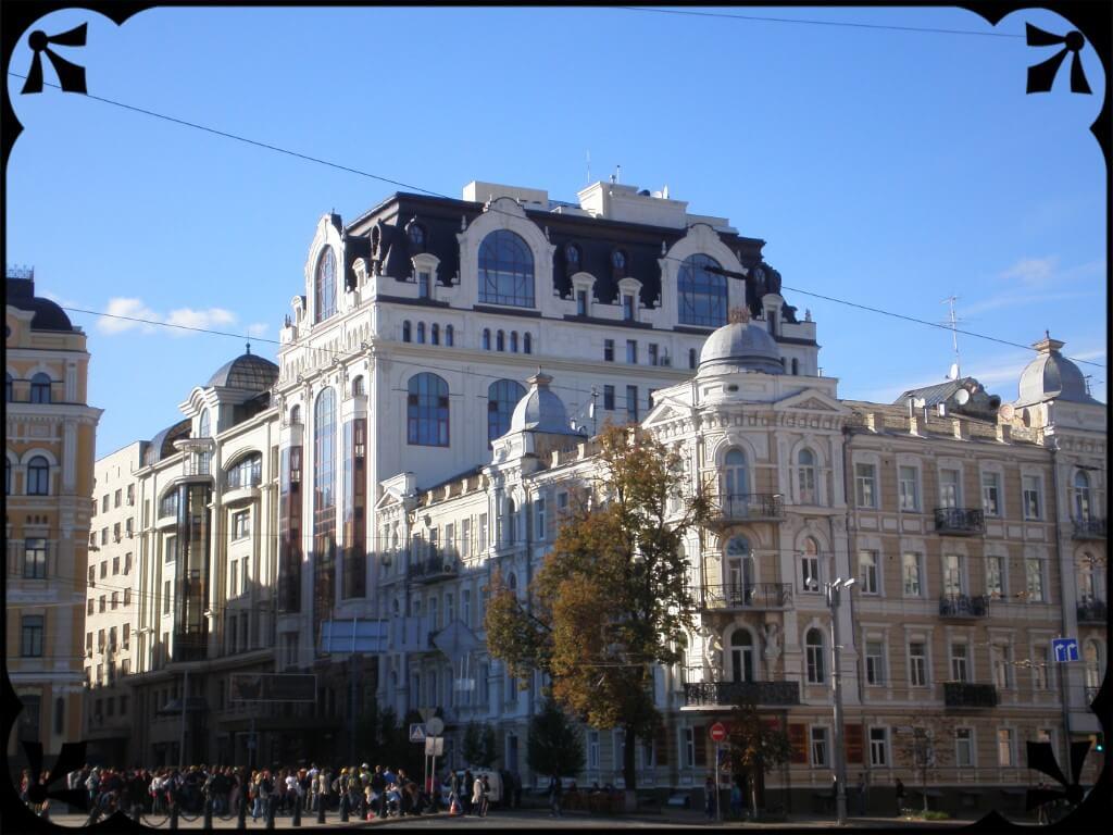 Kamienice Kijowa, fot.Zbigniew T. Pągowski