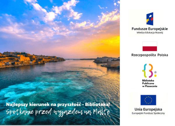 Wyjazd pracowników biblioteki na Maltę - Projekt PO WER