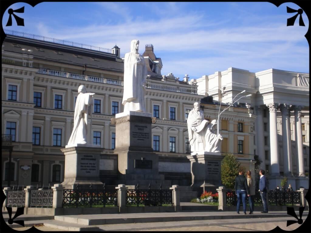 Pomnik Księżnej Olgi, fot.Zbigniew T. Pągowski