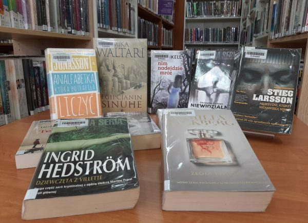 Wystawka książek zkrajów skandynawskich
