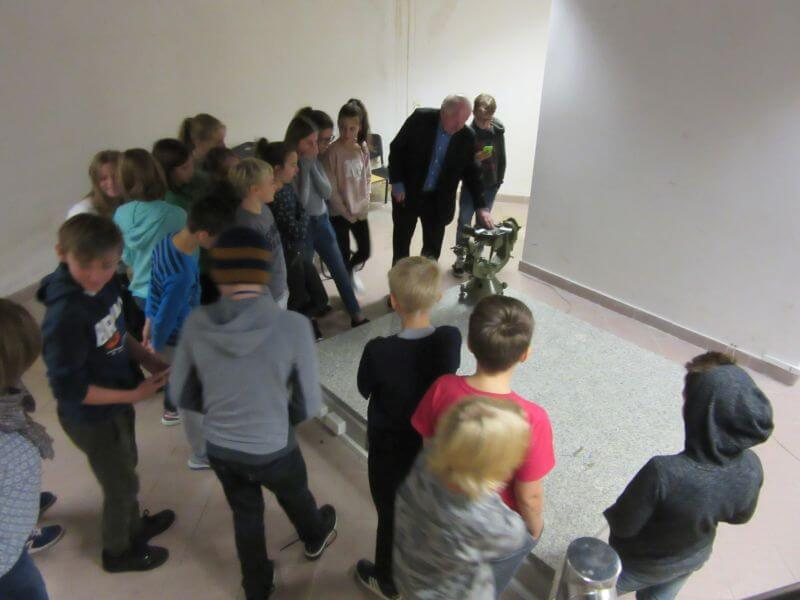 Spacer 4 Wizyta w Obserwatorium Astronomiczno-Geodecyjnym Politechniki Warszawskiej w Józefosławiu