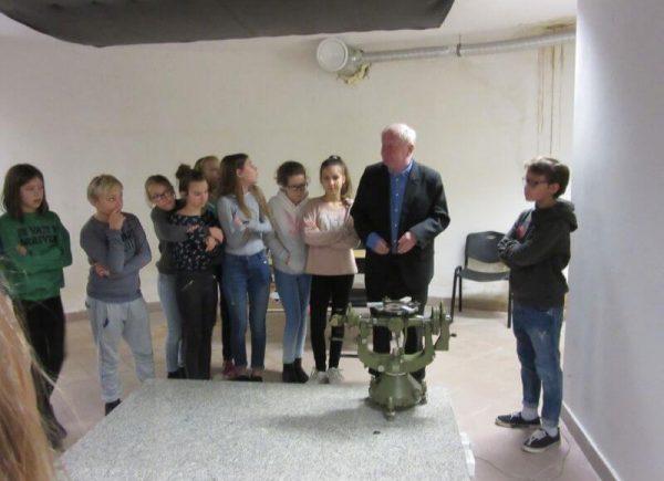 Spacer 4 Wizyta wObserwatorium Astronomiczno-Geodecyjnym Politechniki Warszawskiej wJózefosławiu