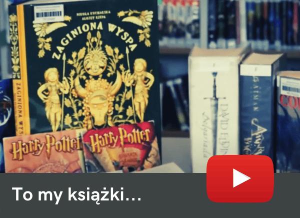 Film o książkach w bibliotece