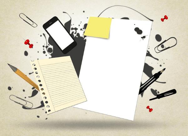 Grafika – przybory biurowe