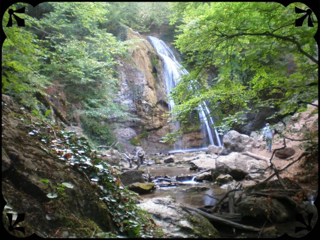 Wodospad Dżur Dżur naKrymie, fot.Zbigniew T. Pągowski