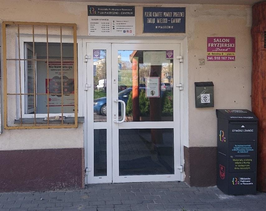 Wrzutnia przedFilią Piaseczno-Centrum