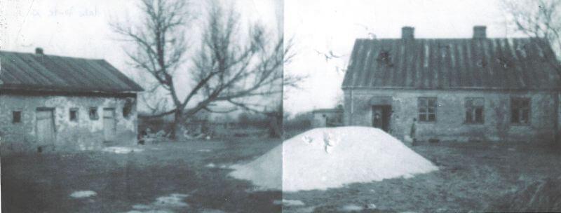Dom Ochyńskich zlat 70. przedprzebudową
