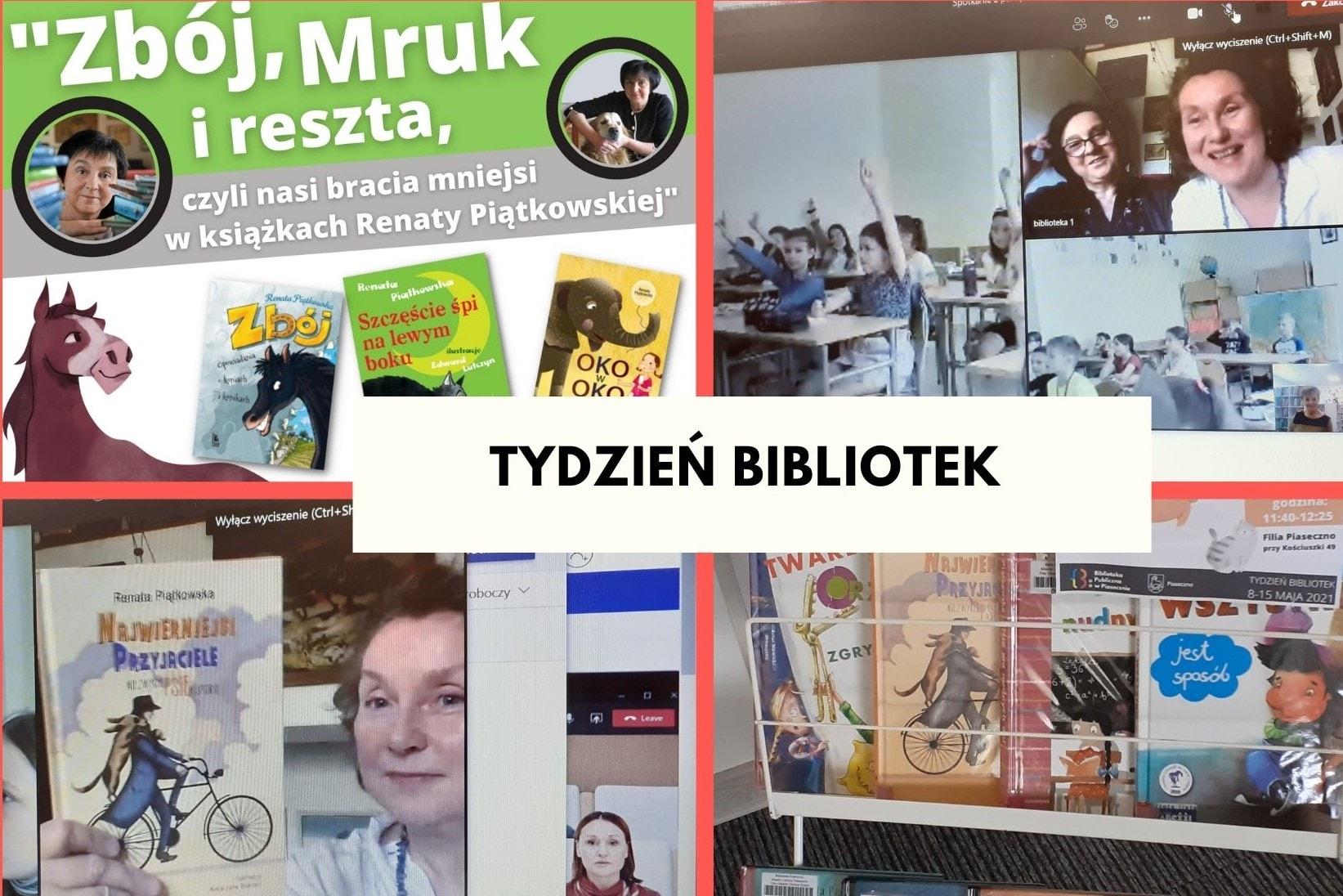 sSpotkanie autorskie zRenatą Piątkowską wfilii przy ul.Kościuszki
