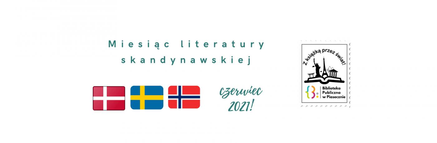 Miesiąc literatury skandynawskiej - baner