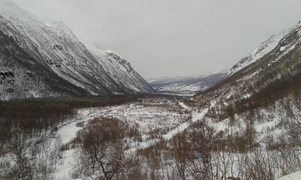 Norwegia Północna, Dolina Birtavarre