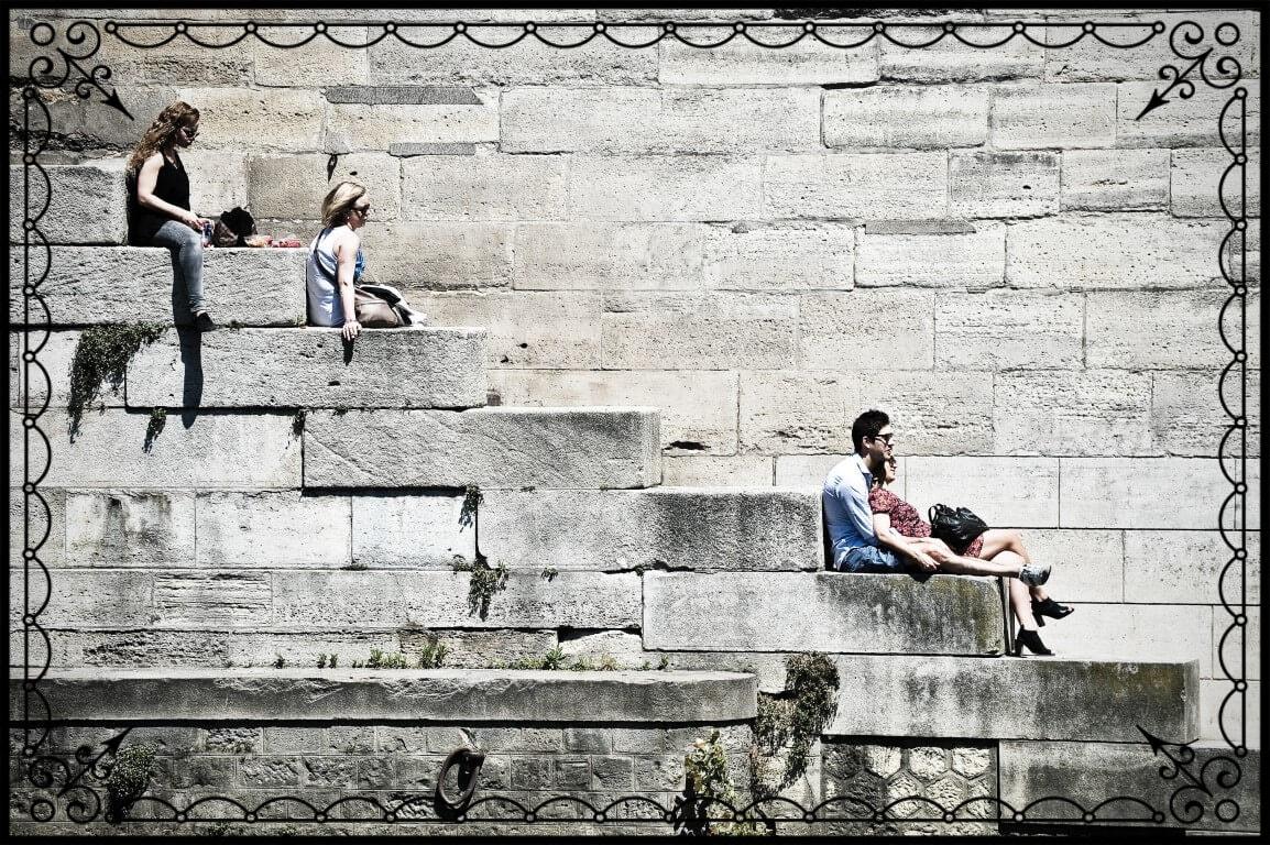 Paryż, bulwary nadrzeczne, fot.Piotr Michalski