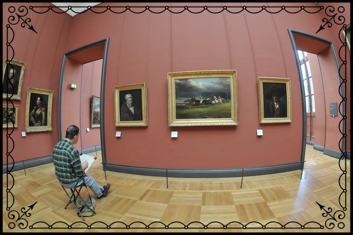Paryż, galeria wciąga, fot.Piotr Michalski