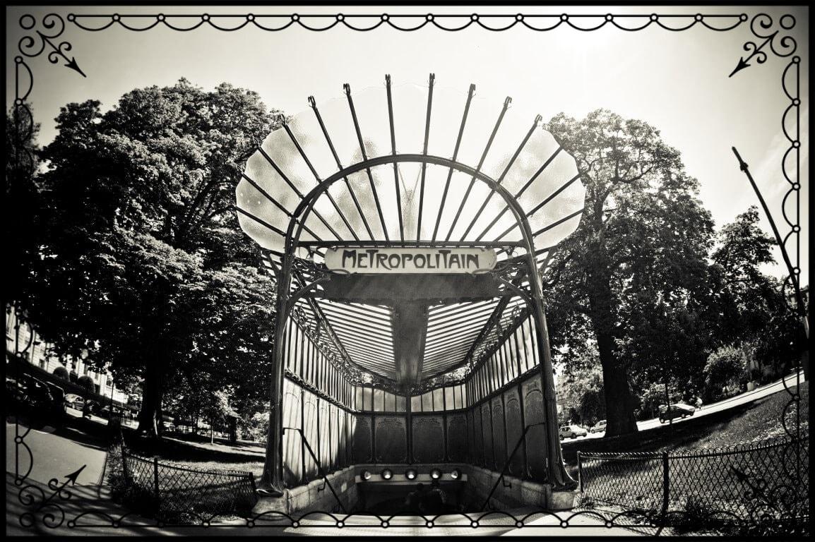 Paryż, wejście dometra, fot.Piotr Michalski