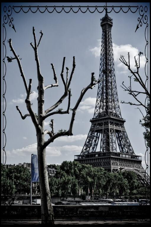 Paryż, Wieża Eiffla, fot.Piotr Michalski