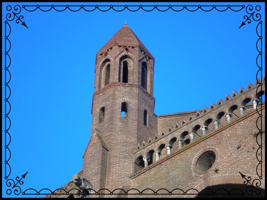 Tuluza, wieża kościelna, fot.Zbigniew T. Pągowski
