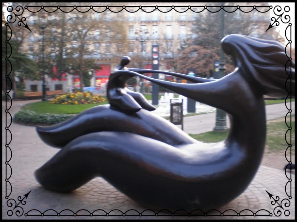 Pomnik macierzyństwa wTuluzie, fot.Zbigniew T. Pągowski