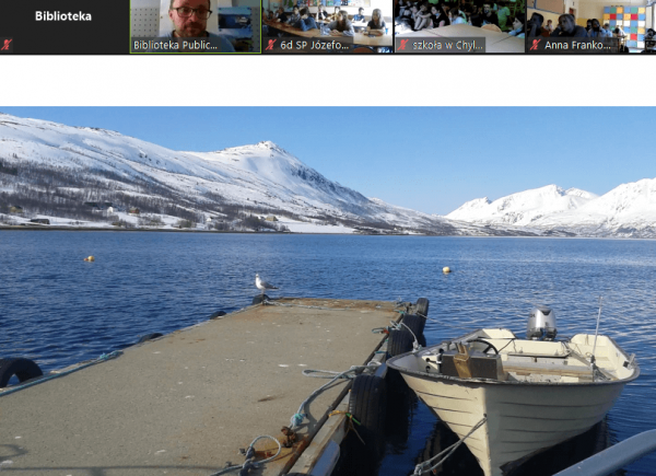 Lekcja online o Norwegii Północnej