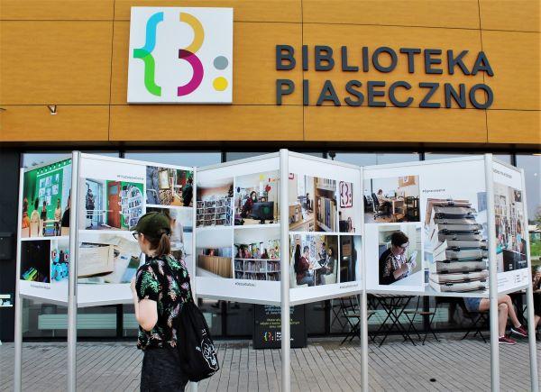 Wystawa zdjęć Damiana Chrobaka - Pracownicy Biblioteki