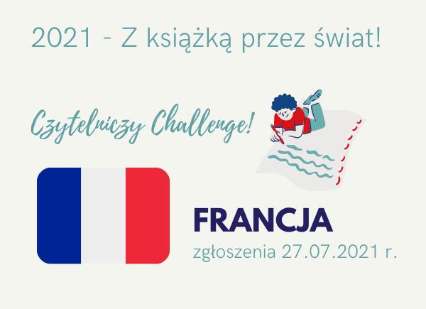 Czytelniczy Challenge Francja