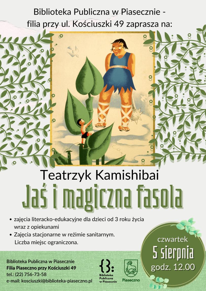 Plakat do warsztatów
