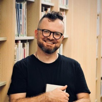 Grzegorz Gębka - Biblioteka główna w CEM, Oddział dla dorosłych
