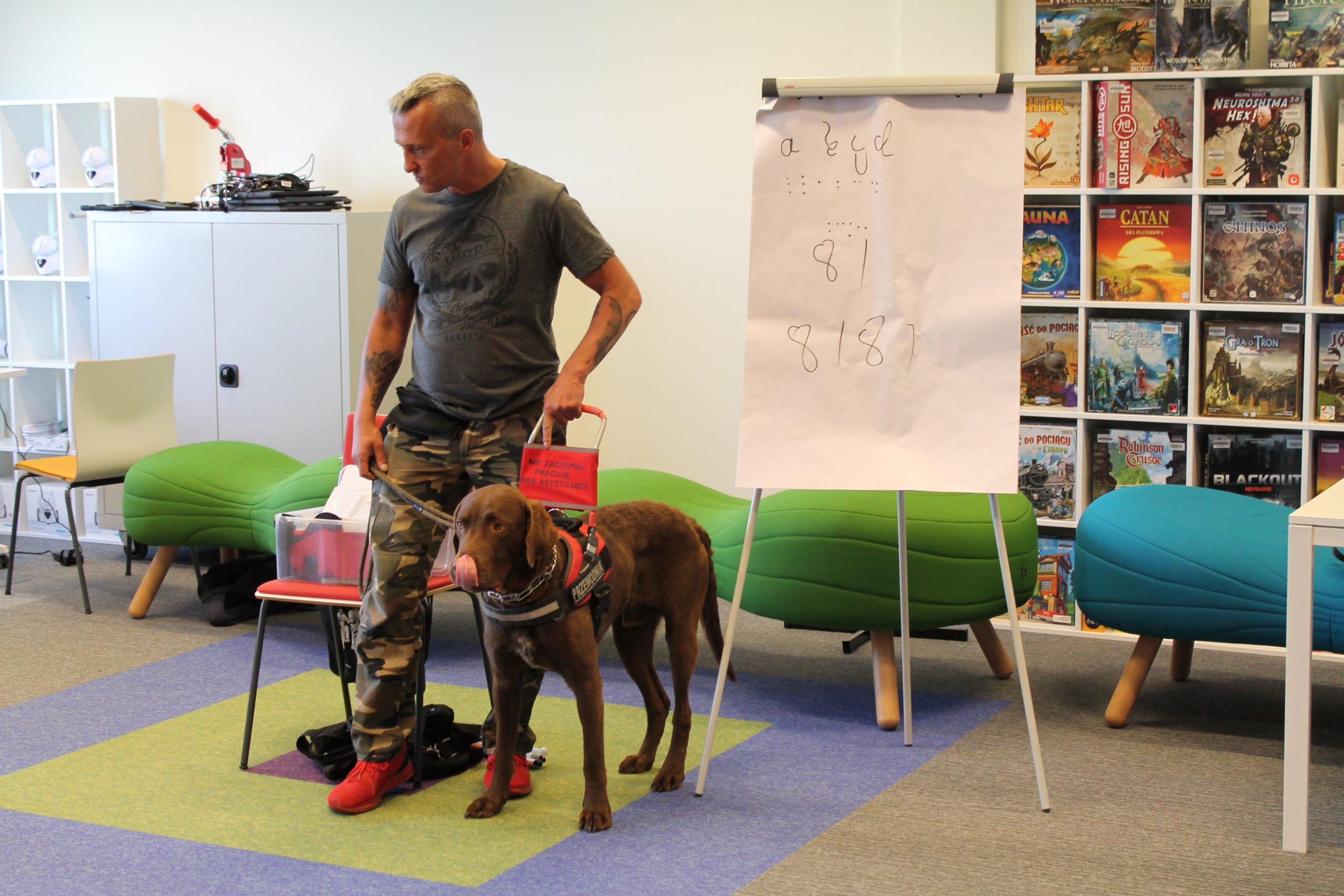 Prezentacja psa przewodnika