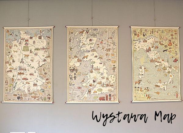 Wystawa Mapy Wydawnictwa Dwie Siostry