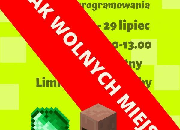 warsztaty Minecraft