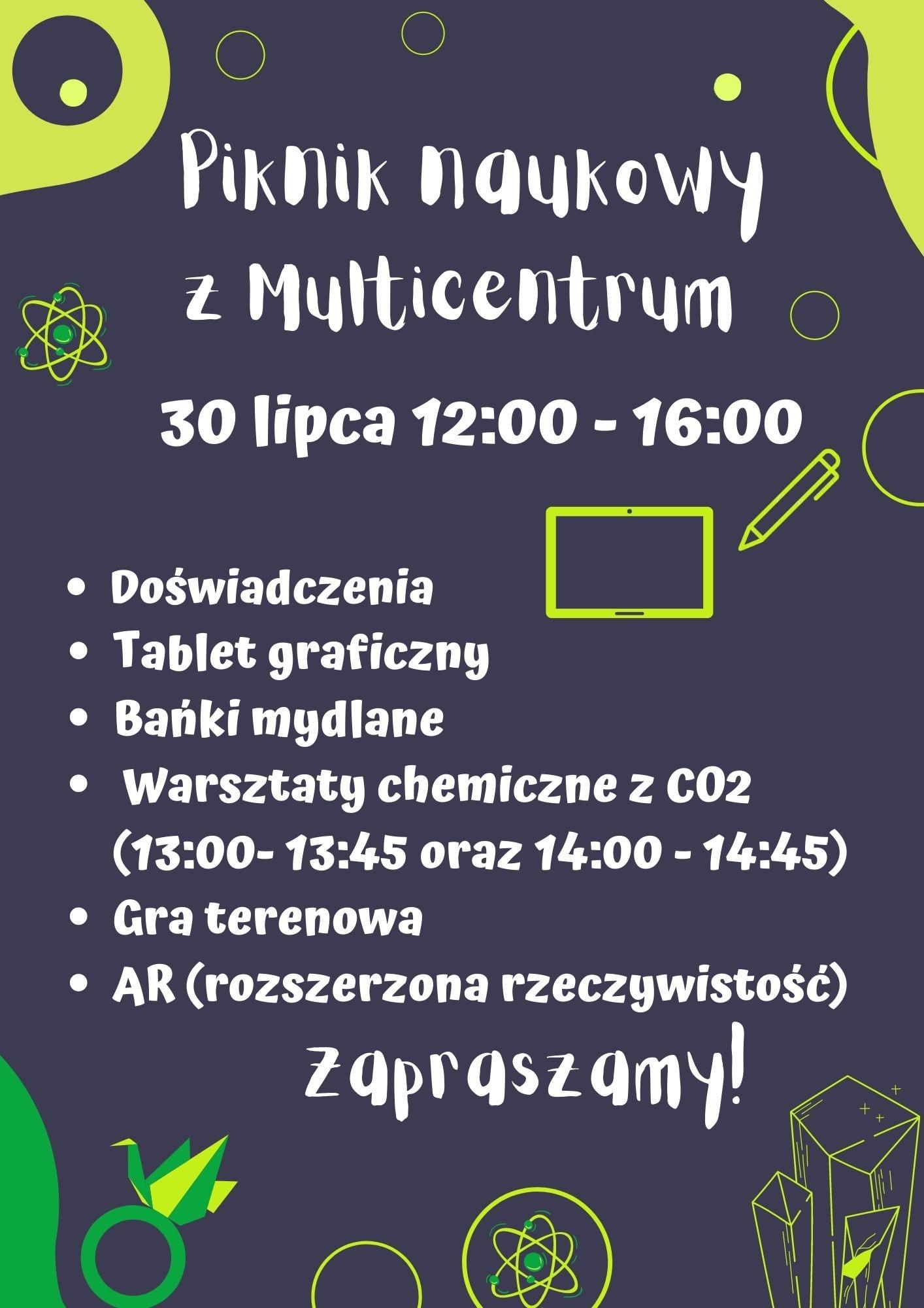 Piknik naukowy z Multicentrum
