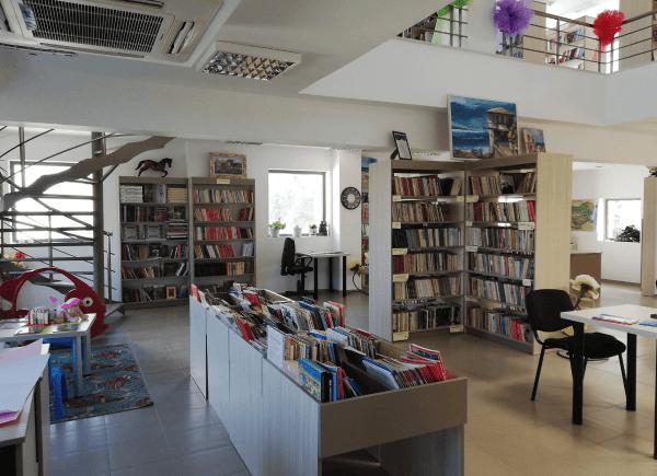 Biblioteka wObzorze