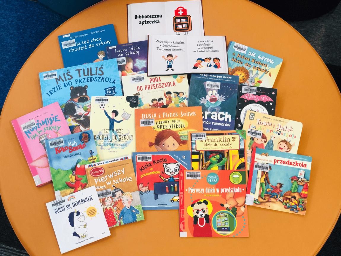 Tytuły pomagające wkroczyć wświat edukacji