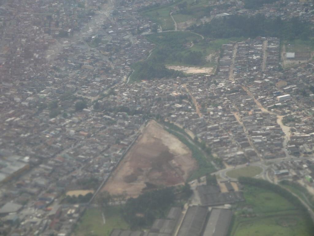 Sao Paolo zsamolotu, fot.Zbigniew T. Pągowski