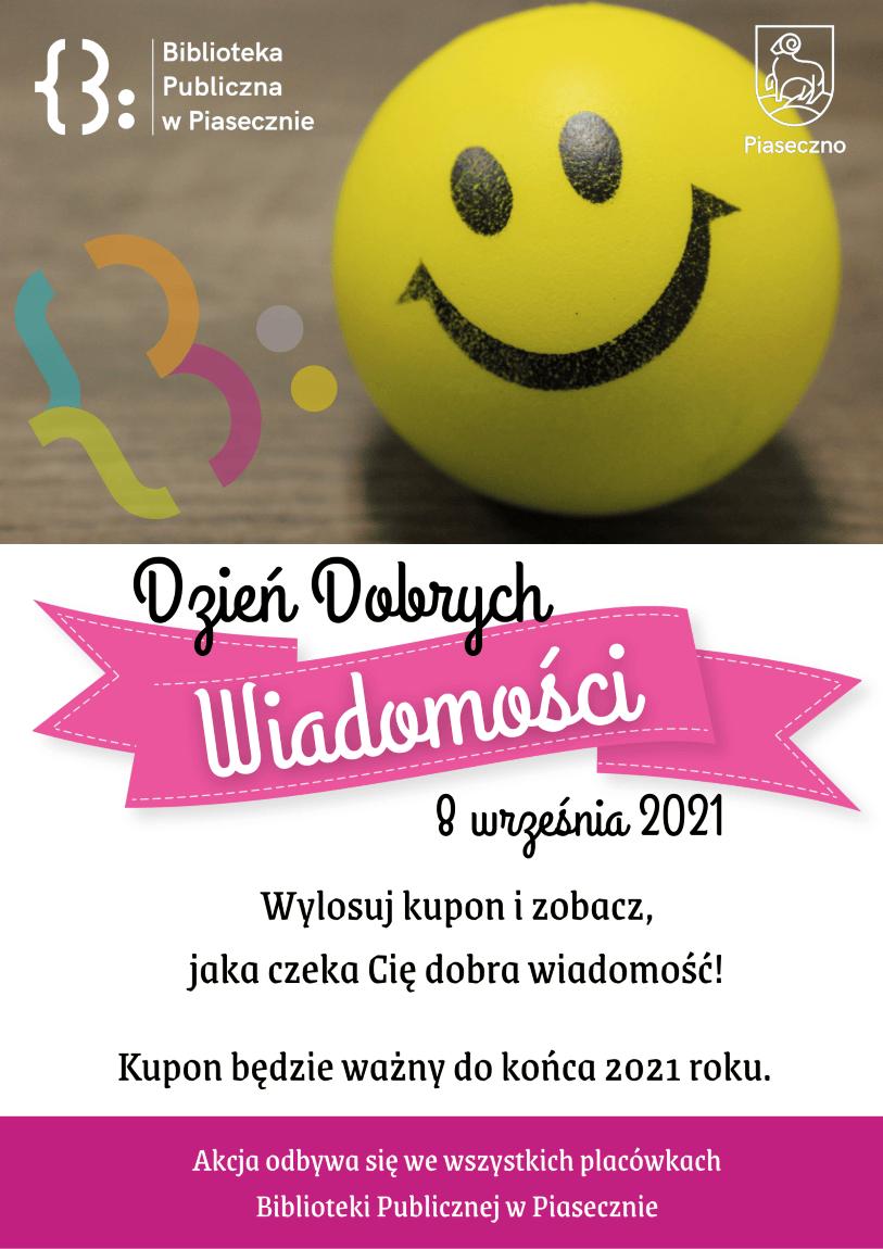 Plakat promujący Dzień Dobrych Wiadomości