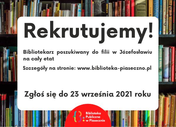 Rekrutacja do filii w Józefosławiu