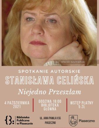 Stanisława Celińśka - spotkanie autorskie