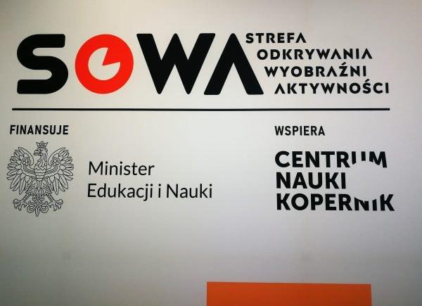 Tablica projektu SOWA.
