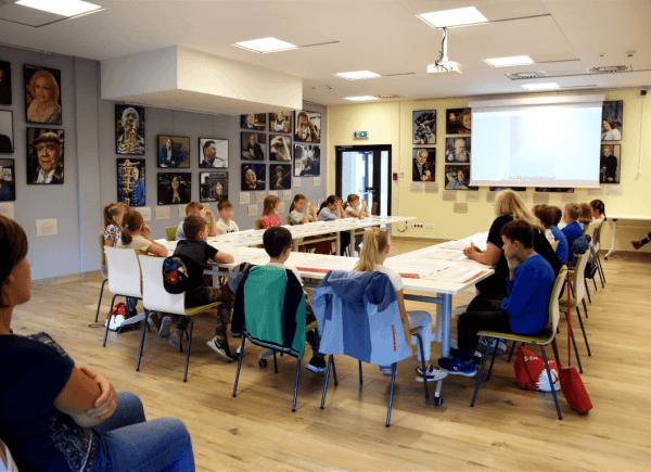 Warsztaty ilustracji dziecięcej zPiotrem Fąfrowiczem