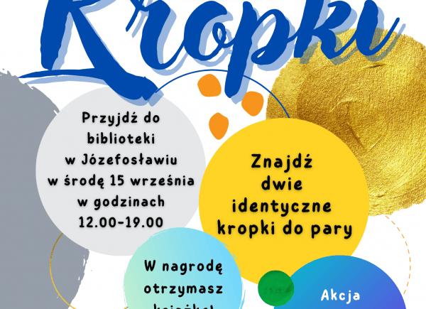 Plakat promujący Międzynarodowy Dzień Kropki