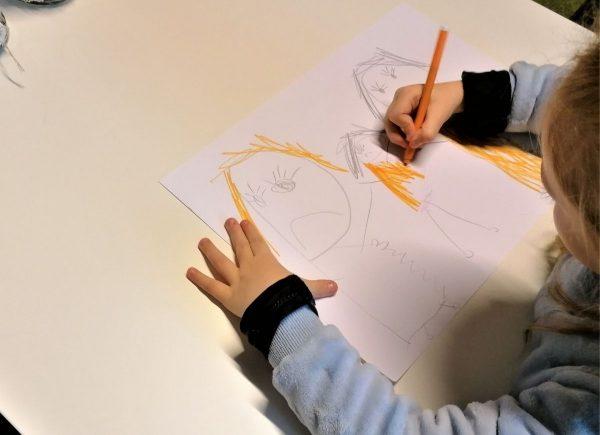Rysowanie ilustracji dowiersza