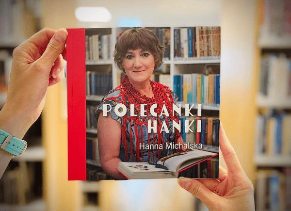 """Okładka książki Hanny Michalskiej """"Polecanki Hanki""""."""